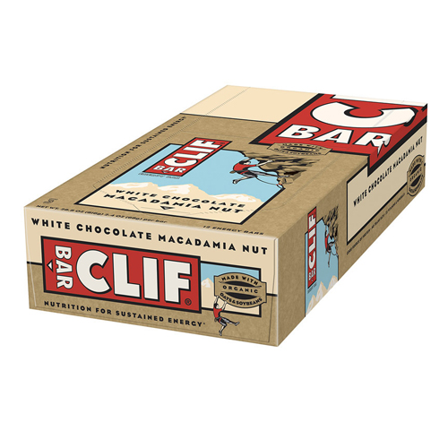 Clif Bar Clif Bar White Chocolate Macadamia - 12 bars