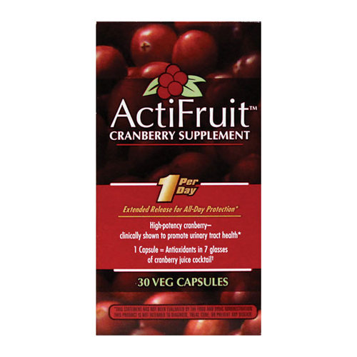 Enzymatic Therapy ActiFruit with Cran-Max 30 caps