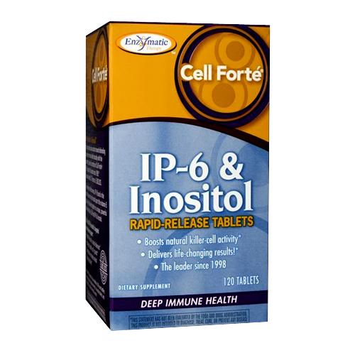 Enzymatic Therapy Cell Forte IP-6 & Inositol 120 tabs