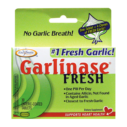 Enzymatic Therapy Garlinase Fresh - 30 tabs