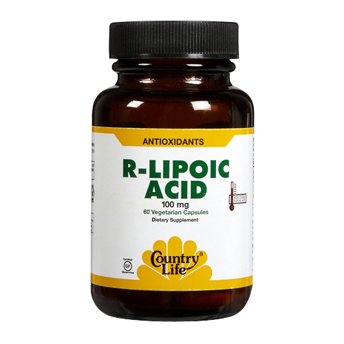 Country Life R-Lipoic Acid - 100 mg 60 vcaps
