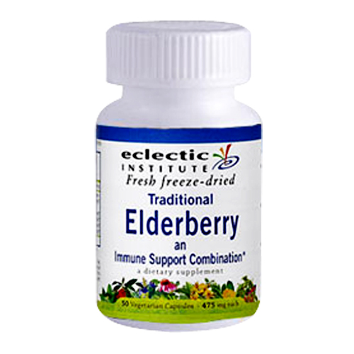 Eclectic Institute Fresh Freeze-Dried Traditional Elderberry 90 vcaps