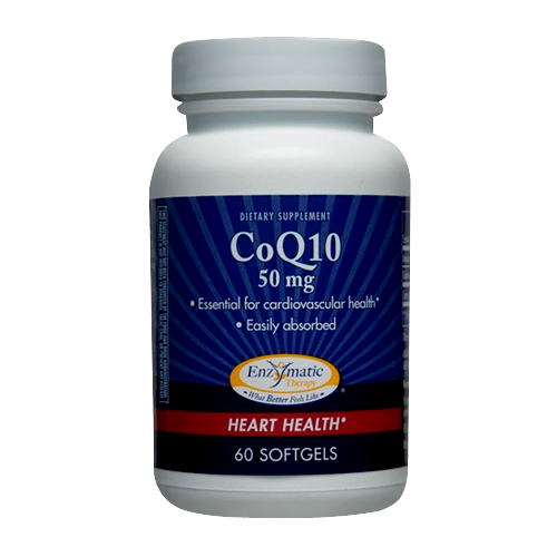 Enzymatic Therapy CoQ10 - 50 mg 60 softgels