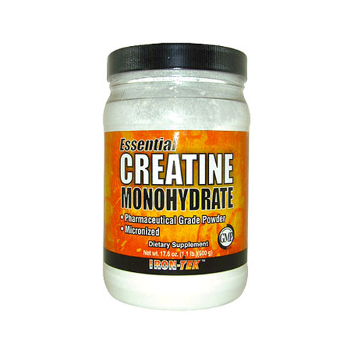 Iron-Tek Creatine Monohydrate Micronized Powder 17.6 oz