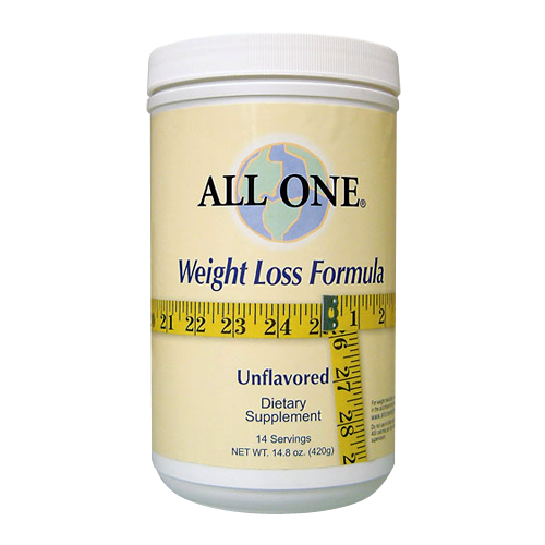 All One Weight Loss Formula Unflavored - 14.8 oz