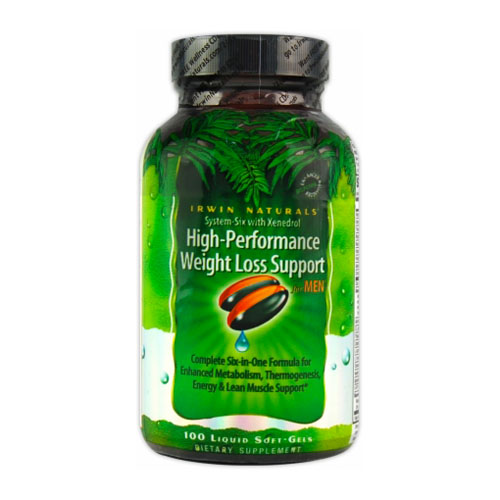 Irwin Naturals High-Performance Weight Loss Support for Men with Xenedrol 100 sgels