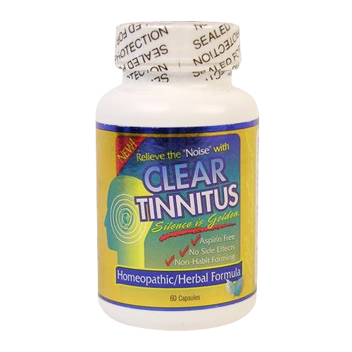 Clear Products Tinnitus 60 caps