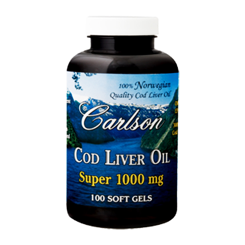 Carlson Cod Liver Oil Super (1000mg) 100 sgels