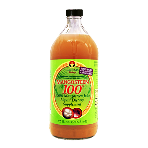 Genesis Today Mangosteen100 Liquid 32 fl.oz