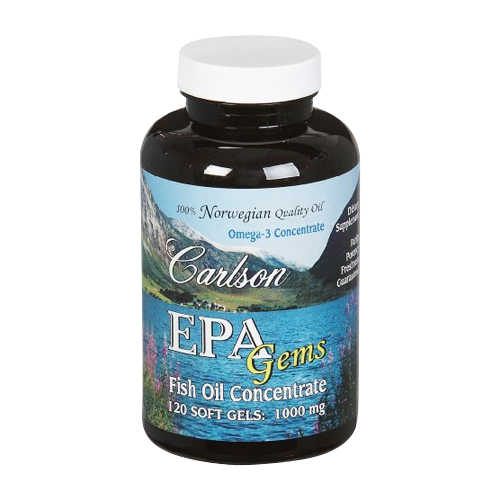Carlson EPA Gems - Fish Oil Concentrate120 sgels