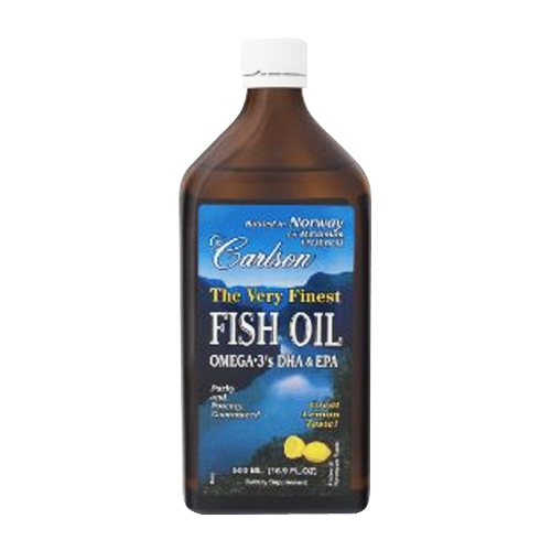 Carlson The Very Finest Fish Oil Liquid Lemon - 200 mL