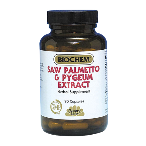 BioChem Saw Palmetto & Pygeum Extract 90 vcaps