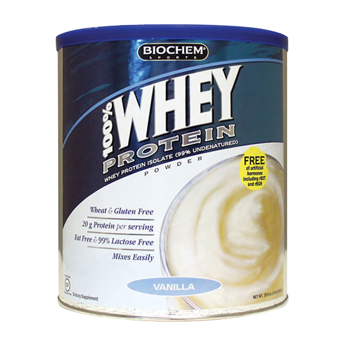 BioChem 100% Whey Protein - All Natural Vanilla 848 gr