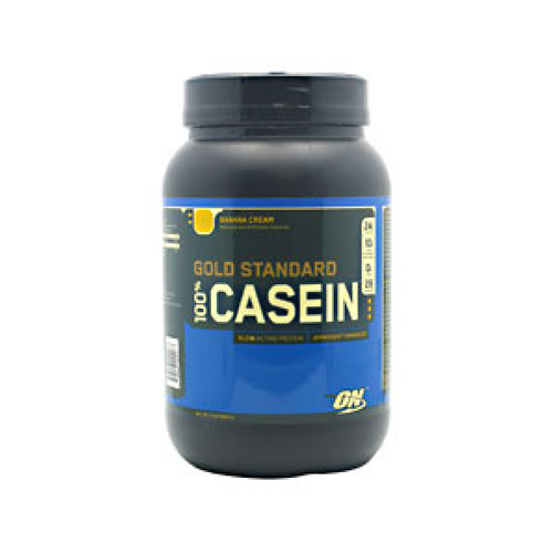 Optimum Nutrition 100% Gold Standard Casein Protein Banana Cream 2 lbs