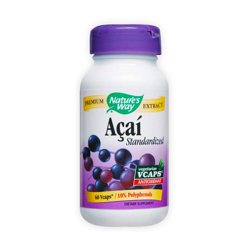 Nature's Way Acai - Standardized Extract 60 vcaps