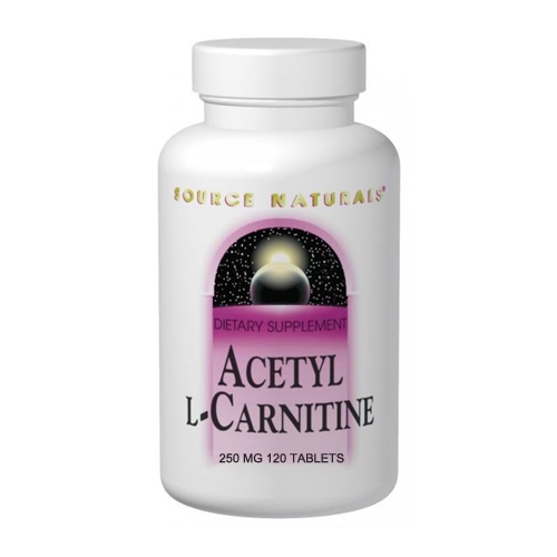 Source Natural's Acetyl L-Carnitine - 250 mg 120 tabs