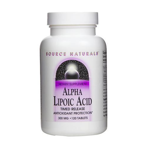 Source Naturals Alpha Lipoic Acid - Timed Release - 300 mg 120 tabs