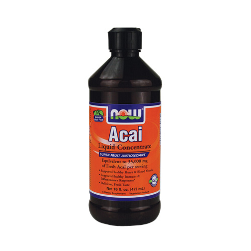 NOW Acai (liquid concentrate) 16 fl.oz