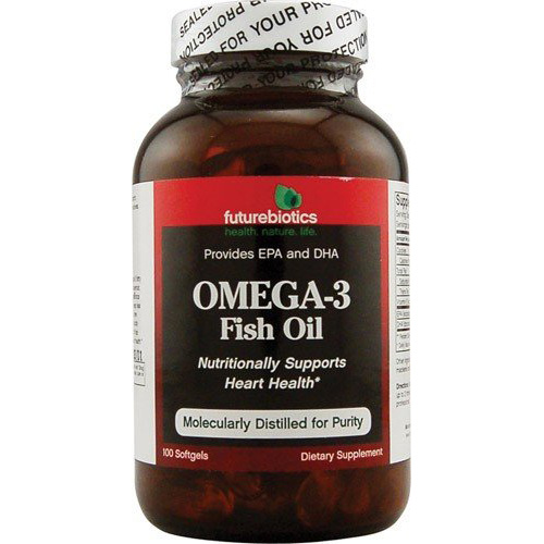 Futurebiotics Omega-3 Fish Oil - 100 softgels - astronutrition.com