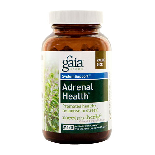 Gaia Herbs System Support - Adrenal Health - 120 vcaps
