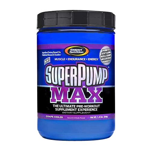 Gaspari Nutrition SuperPump Max Grape Cooler - 1.41 lbs