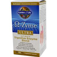 Garden Of Life Omega-Zyme Ultra - Ultimate Digestive Blend 180 vcaps