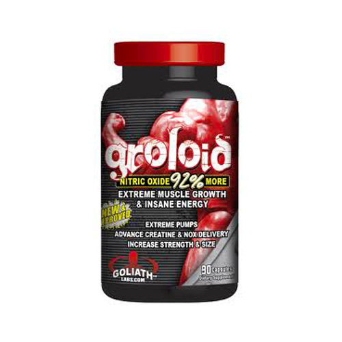 Goliath Labs® Groloid – Nitric Oxide 90 caps