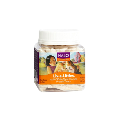 Halo Liv-a-Littles 100% Chicken Breast 2.2 oz