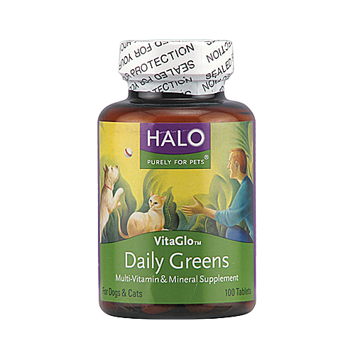 Halo VitaGlo Daily Greens - 100 tabs