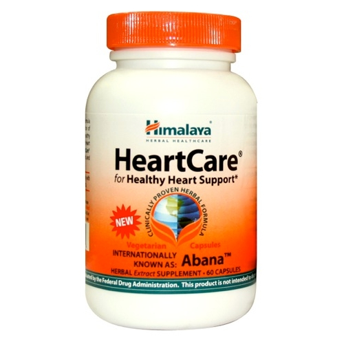 Himalaya Healthcare HeartCare - for Healthy Heart Support - 60 capsules