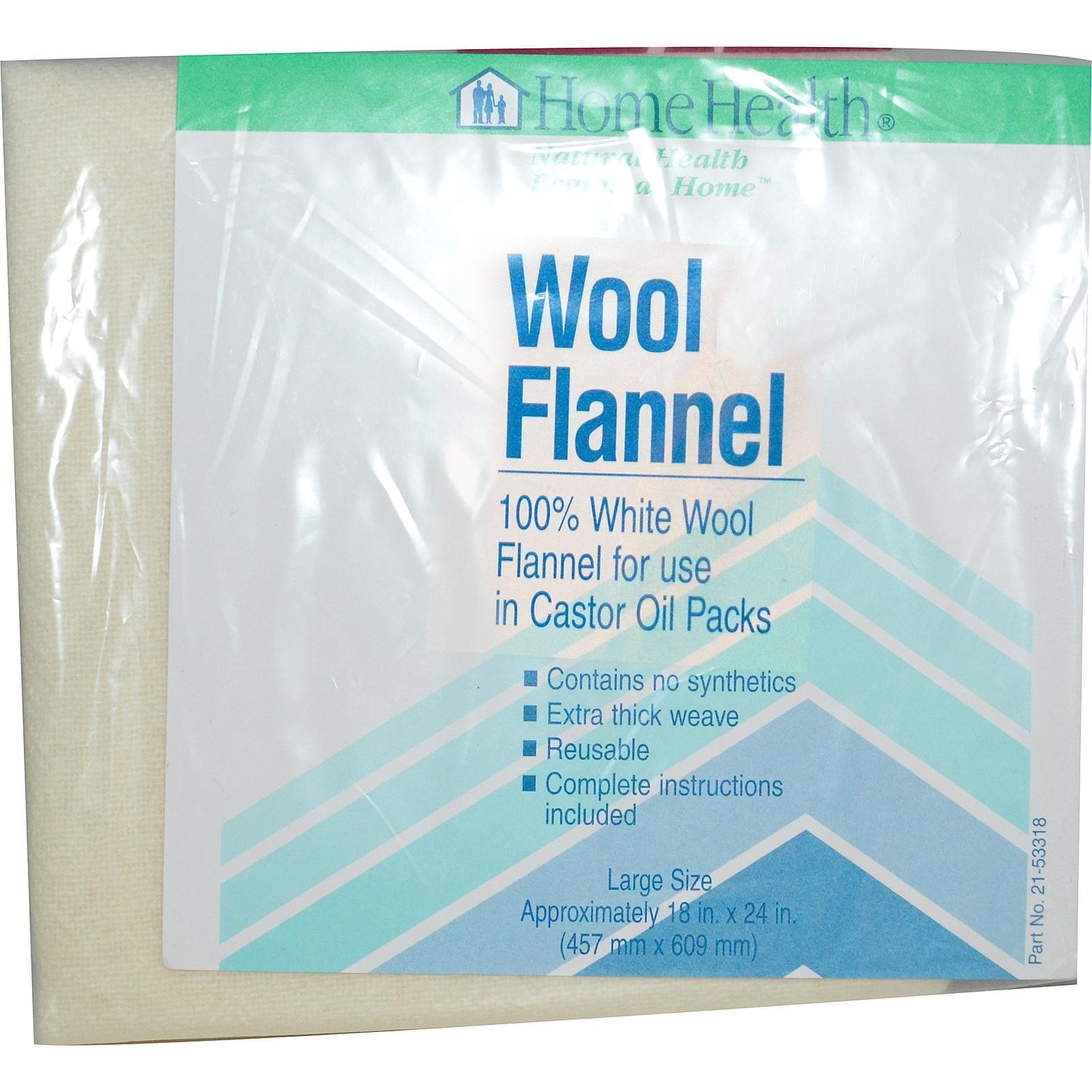 Home Health Wool Flannel Wool Flannel - 1 packets