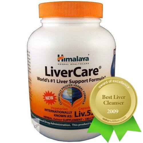 Himalaya LiverCare (Liv.52) - World's #1 Liver Support - 90 capsules