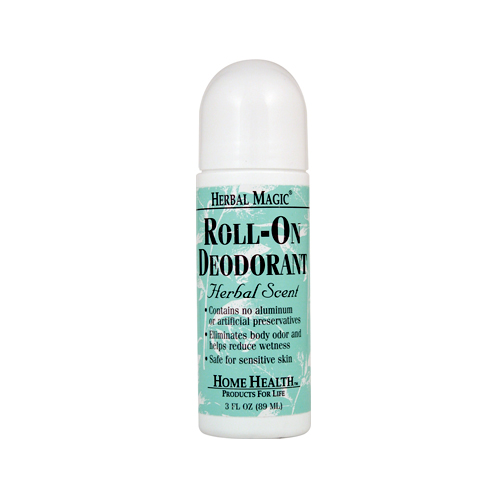 Home Health Roll-On Deodorant Herbal Scent - 3 fl.oz