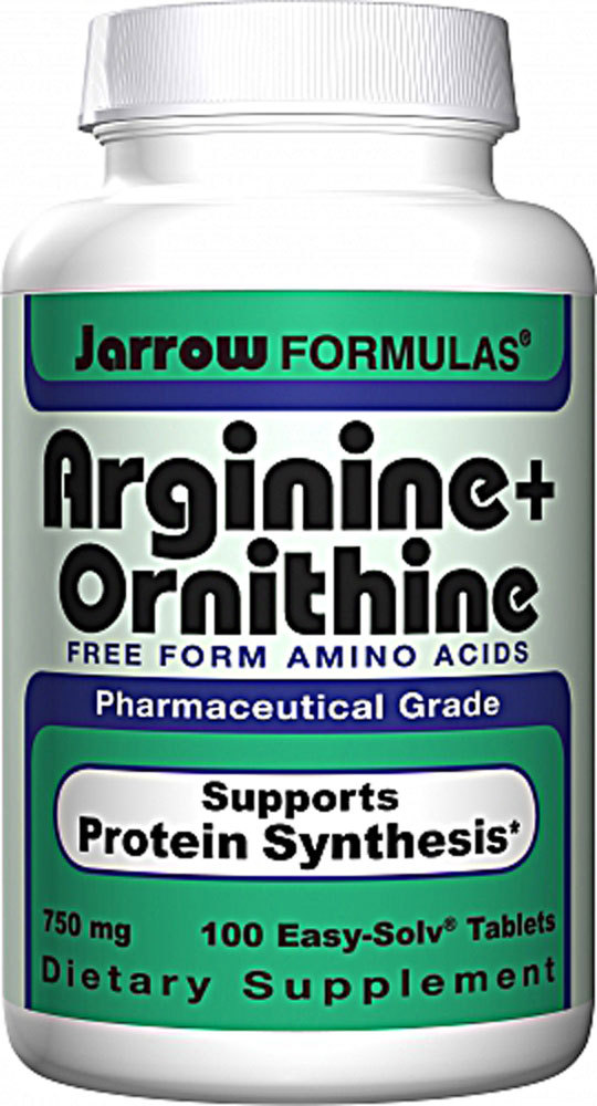 Jarrow Arginine plus Ornithine - 100 caps