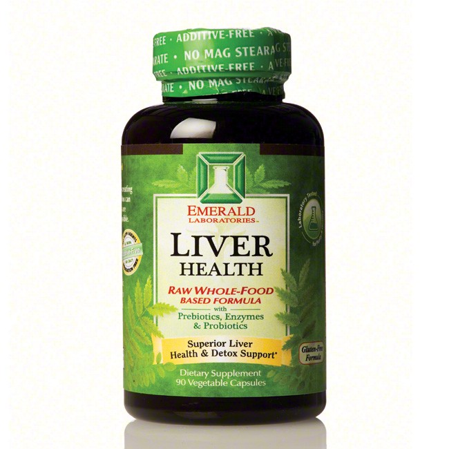 Emerald Laboratories Liver Health - 90 vcaps