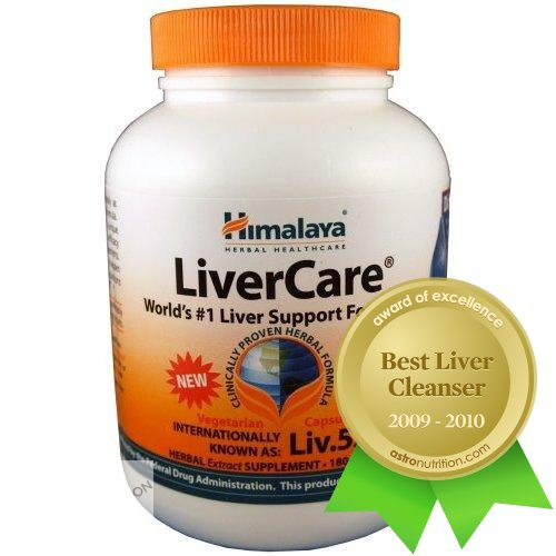Himalaya LiverCare (Liv.52) - World's #1 Liver Support - 180 capsules