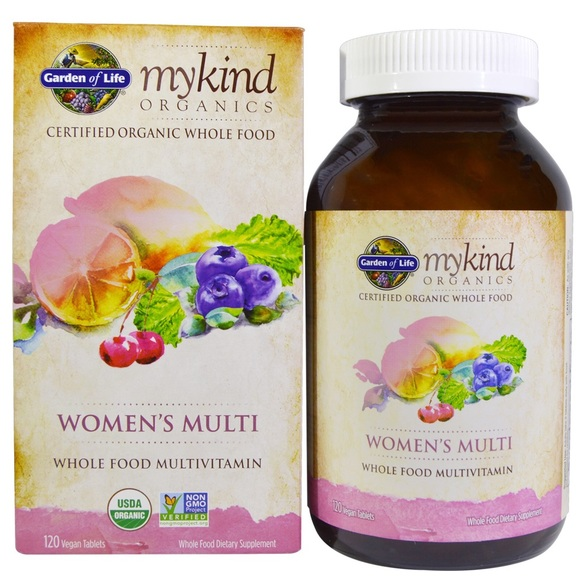 Garden Of Life My Kind Organics - Women's Multi 60 tabs