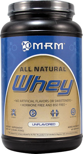 100% All Natural Whey Unflavored 2.03 lbs