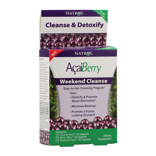 Natrol  AcaiBerry Weekend Cleanse - 30 caps