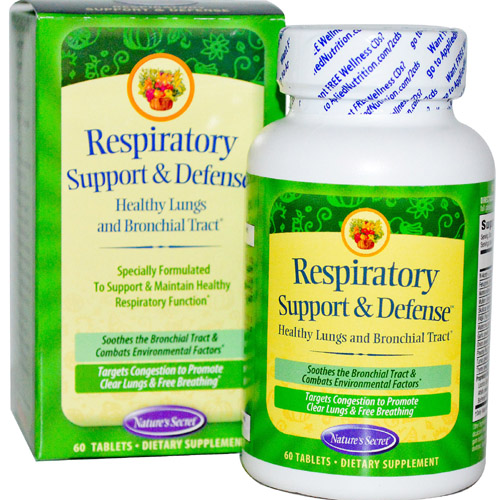Nature's Secret  Respiratory Cleanse and Defense - 60 tabs - astronutrition.com