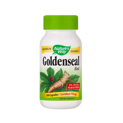 Nature's Way Goldenseal Root - 100 caps