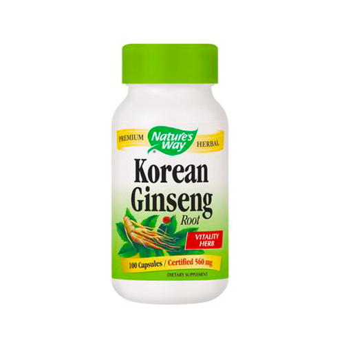 Nature's Way Korean Ginseng Root 100 caps