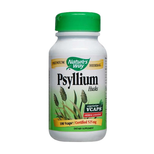 Nature's Way Psyllium Husks - 100 vcaps