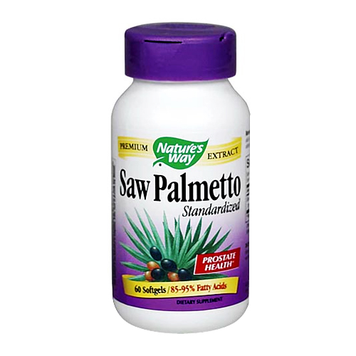 Nature's Way Saw Palmetto - Standardized Extract - 60 softgels