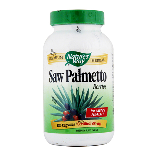 Nature's Way Saw Palmetto Berries - 180 caps