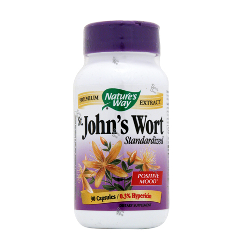 Nature's Way St. John's Wort - Standardized Extract - 90 caps