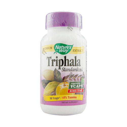 Nature's Way Triphala - Standardized Extract - 90 vcaps