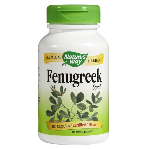 Nature's Way Fenugreek Seed - 180 caps