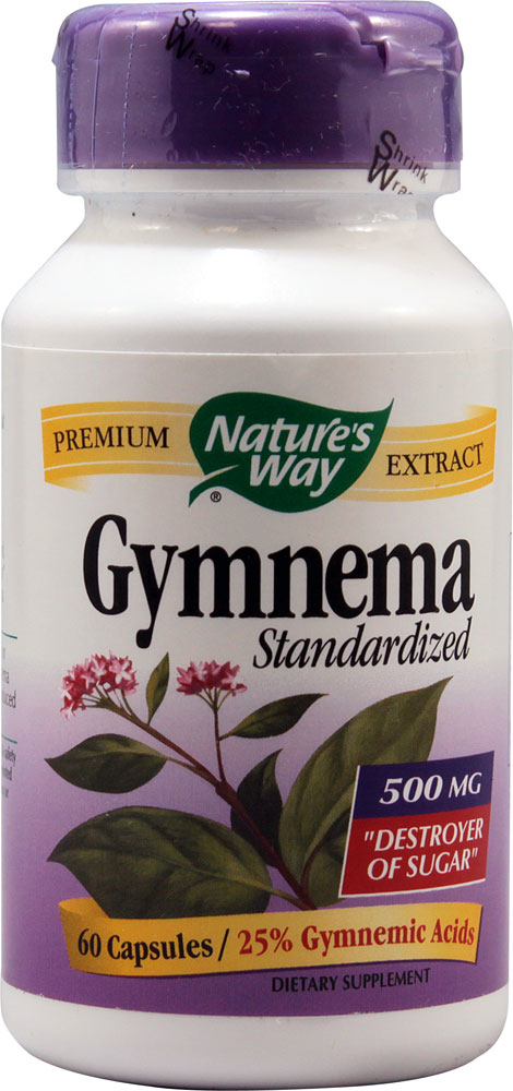 Nature's Way Gymnema - Standardized Extract - 60 caps