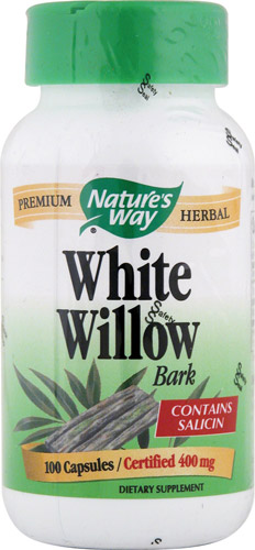 White Willow Bark (800mg) 100 caps
